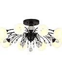 tanie Kwarcowy-LightMyself™ 10 świateł Żyrandol / Lampy widzące Światło rozproszone - Kryształ, Matowy / a, 110-120V / 220-240V Żarówka w zestawie / G9 / 20-30 ㎡