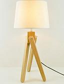 tanie Suknie i sukienki damskie-Nowoczesny / współczesny Dekoracyjna Lampa stołowa Na Drewno / Bambus 220-240V