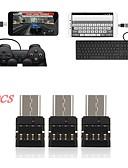 billiga MacBook-tillbehör-OTG / Typ-C Adaptor <1m / 3ft Höghastighets / OTG PCB USB-kabeladapter Till Macbook / Samsung / Huawei