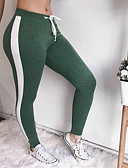 cheap Women's Two Piece Sets-Women's Daily Sporty Legging - Solid Colored Mid Waist