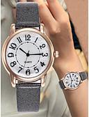 ieftine Ceasuri La Modă-Pentru femei Ceas de Mână Piele Negru / Alb / Albastru Cronograf Mare Dial Analog Lux Plin de Culoare - Maro Rosu Roz Un an Durată de Viaţă Baterie / SSUO LR626