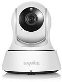 tanie Koszulki i tank topy męskie-SANNCE 2 mp Kamera IP w pomieszczeniach Wsparcie 64 GB sol / PTZ / Przewodowa / CMOS / Bezprzewodowy / Dzień i noc