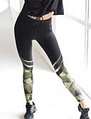 cheap Leggings-Women's Plus Size Cotton Skinny / Slim Sweatpants Pants - Floral Pleated Black