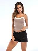 ieftine Bluze & Camisole Femei-Pentru femei Tank Tops Activ - Bloc Culoare Fără Spate