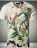 povoljno Muške košulje-Majica s rukavima Muškarci - Aktivan Osnovni Dnevno Vikend Životinja