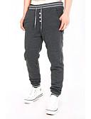 abordables Pantalones y Shorts de Hombre-Hombre Básico Chinos Pantalones - Un Color