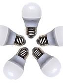 お買い得  メンズパンツ&ショーツ-5個 4 W 360 lm E26 / E27 LEDボール型電球 G45 8 LEDビーズ SMD 2835 温白色 220-240 V