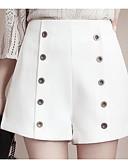 povoljno Ženske hlače i suknje-Žene Osnovni Veći konfekcijski brojevi Kratke hlače Hlače - Print, Jednobojni