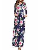 cheap Women's Dresses-Women's Boho Swing Dress - Floral, Print