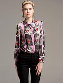 billige Todelt dress til damer-Skjortekrage Skjorte Dame - Dyr Grunnleggende