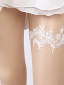 abordables Vestidos de Dama de Honor-Encaje Dulce Tradicional / Clásico Liga de la boda  -  Perlado Artificial Encaje Ligas Boda Ocasión especial