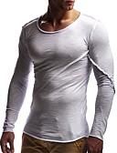 preiswerte Herrenhemden-Herrn Solide - Grundlegend T-shirt