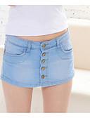 abordables Pantalones para Mujer-Mujer Activo Vaqueros Pantalones - Un Color