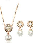 ieftine Ceasuri La Modă-Pentru femei Set bijuterii - femei, European, Modă, Elegant Include Auriu / Argintiu Pentru Petrecere Zilnic / Σκουλαρίκια