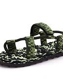billige Kjoler-Herre Stof Sommer Komfort Sandaler Grøn