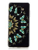 halpa Puhelimen kuoret-Etui Käyttötarkoitus Samsung Galaxy A5(2018) / Galaxy A7(2018) / A5 (2017) Kuvio Takakuori Perhonen Pehmeä TPU