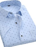 cheap Men's Shirts-Men's Basic Shirt - Geometric