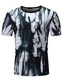 baratos Camisetas & Regatas Masculinas-Homens Camiseta Básico Poá
