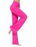 ieftine Chiloți-Pentru femei Larg pe Picior Pantaloni de yoga - Roșu Închis, Gri Închis, Bleumarin Sport Culoare solidă, Modă Modal Leggings Pilates, Dans, Fitness Îmbrăcăminte de Sport  Ușor, Uscare rapid / Strech