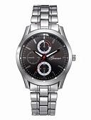 preiswerte Luxusuhren-Herrn Kleideruhr Chinesisch Chronograph Edelstahl Band Modisch Silber / SSUO LR626