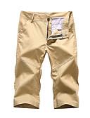 ieftine Maieu & Tricouri Bărbați-Bărbați Mărime Plus Size In Pantaloni Scurți Pantaloni Mată