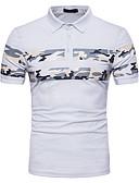 זול חולצות פולו לגברים-גיאומטרי בסיסי Polo - בגדי ריקוד גברים טלאים
