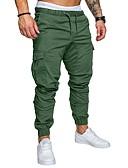 ieftine Pantaloni Bărbați si Pantaloni Scurți-Bărbați De Bază Mărime Plus Size Pantaloni Chinos Pantaloni Mată