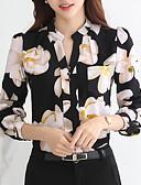 ieftine Bluză-Pentru femei Stil Nautic Bluză Floral