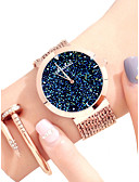 cheap Women's Fur Coats-Women's Dress Watch Japanese Cute / Creative / New Design Alloy Band Sparkle / Colorful Rose Gold / Luminous / Two Years / Sony SR626SW
