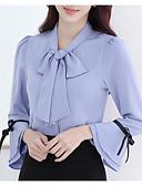 baratos Blusas Femininas-Mulheres Blusa Moda de Rua Sólido
