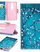 cheap Print Dresses-Case For Nokia Nokia 6 2018 / Nokia 5 Wallet / Card Holder / with Stand Full Body Cases Flower Hard PU Leather for Nokia 8 / Nokia 6 / Nokia 6 2018