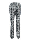 cheap Leggings-Women's Sporty Legging - Floral, Mesh Mid Waist