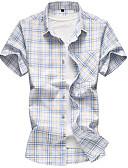 cheap Men's Shirts-Men's Basic Shirt - Check