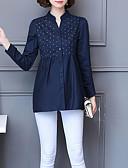 olcso Köntösök és pizsamák-V-alakú Női Pamut Ing - Virágos