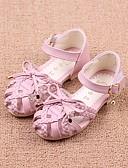 cheap Flower Girl Dresses-Girls' Shoes Leatherette Summer Comfort / Flower Girl Shoes Sandals for Beige / Blue / Pink