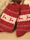 ieftine Tricou-Pentru femei Șosete - Geometric Cald
