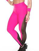 abordables Leggings para Mujer-Mujer Diario Deportivo Legging - Bloques Media cintura