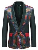 cheap Men's Blazers & Suits-Men's Basic Blazer - Geometric