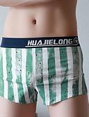 cheap Men's Underwear & Socks-Men's Boxers Underwear - Print, Geometric / Color Block Low Rise