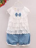 povoljno Kompletići za bebe-Dijete Djevojčice Print Bez rukávů Komplet odjeće