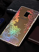 halpa Puhelimen kuoret-Etui Käyttötarkoitus Samsung Galaxy A3 (2017) / A5 (2017) / A8 2018 Pinnoitus / Kuvio Takakuori Lace Printing Pehmeä TPU