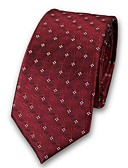cheap Men's Ties & Bow Ties-Unisex Party / Work Polyester Necktie - Jacquard Criss-Cross / Fabric / All Seasons