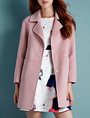 ieftine Tricou-Pentru femei Guler Cămașă Mărime Plus Size Palton Mată