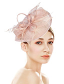 cheap Women's Headpieces-Women's Vintage / Elegant Headband / Hair Clip / Fascinator Flower