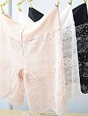 ieftine Rochii de Damă-Pentru femei Brodată Chiloți Formă Talie medie