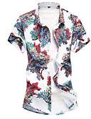 ieftine Tricou Bărbați-cămașă pentru bărbați - suport geometric
