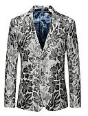 ieftine Jachete & Paltoane Bărbați-Bărbați Blazer De Bază Geometric