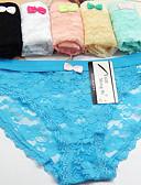 cheap Women's Dresses-Women's Shorties & Boyshorts Panties - Print, Embroidered Low Waist / Sexy