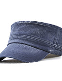 cheap Men's Hats-Men's Work / Basic Military Hat - Solid Colored