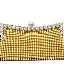 ieftine Bluze & Camisole Femei-Pentru femei Genți Aliaj Geantă Seară Detalii Cristal Auriu / Negru / Argintiu
